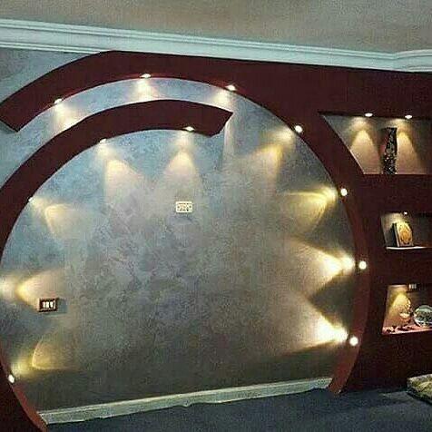 طراحی و اجرای دکوراسیون دیوار پشت ال سی دی یا تی وی روم