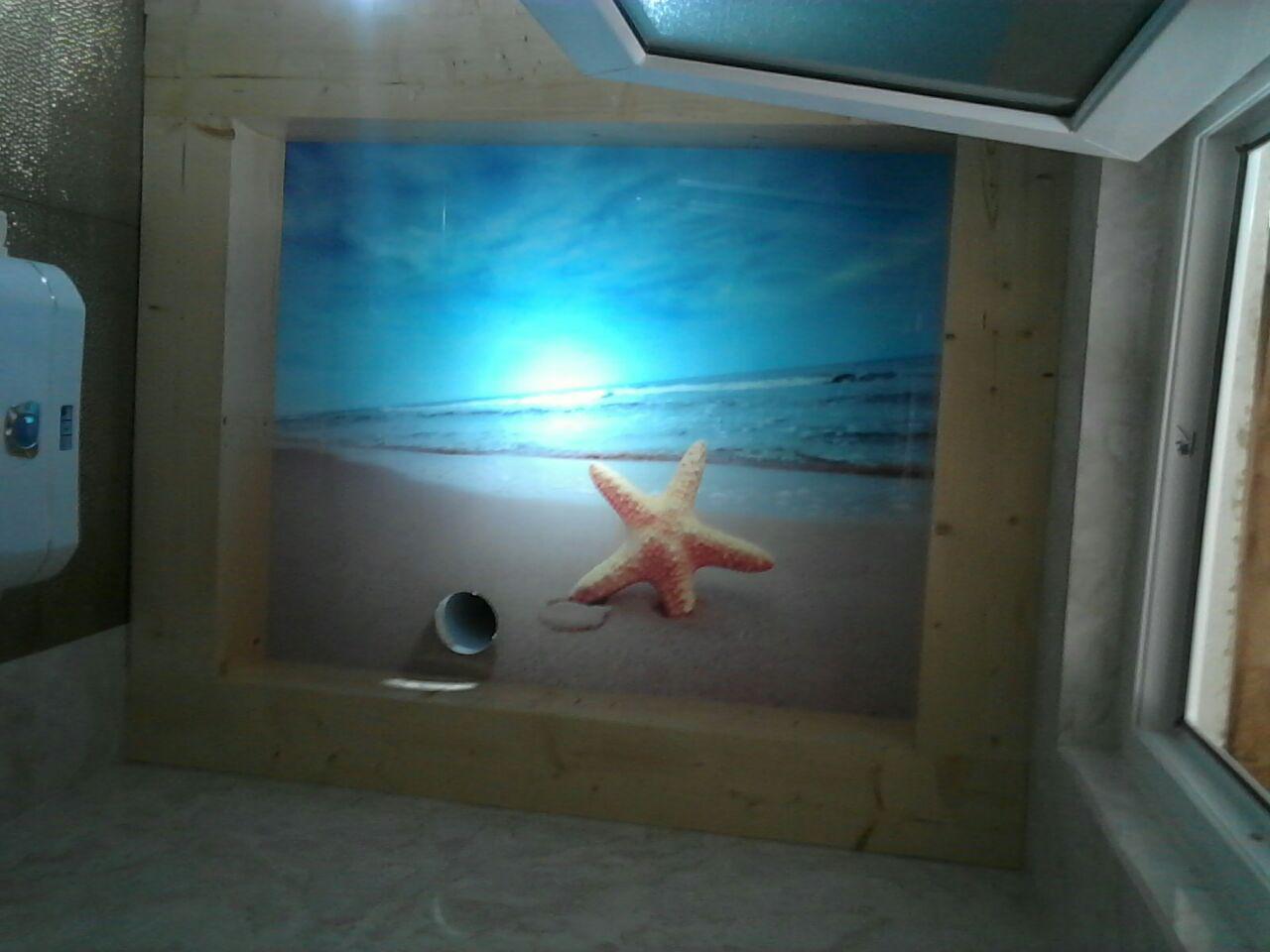 نمونه آسمان مجازی و دکور سرویس بهداشتی و حمام